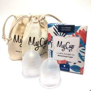 MyCup™ Menstrual Cup Pack of 2 | MULTI PACK