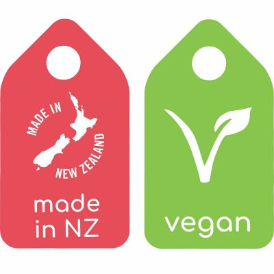 Made in NZ Vegan