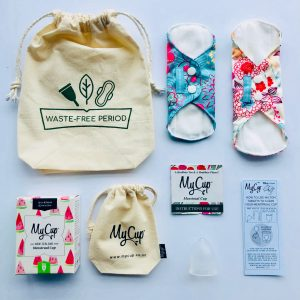 MyCup Waste Free Teen Period Kit